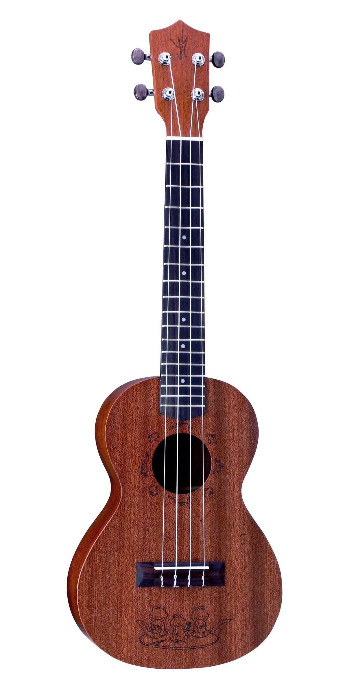 Laser-graving,Sapele Plywood,Tenor Ukulele