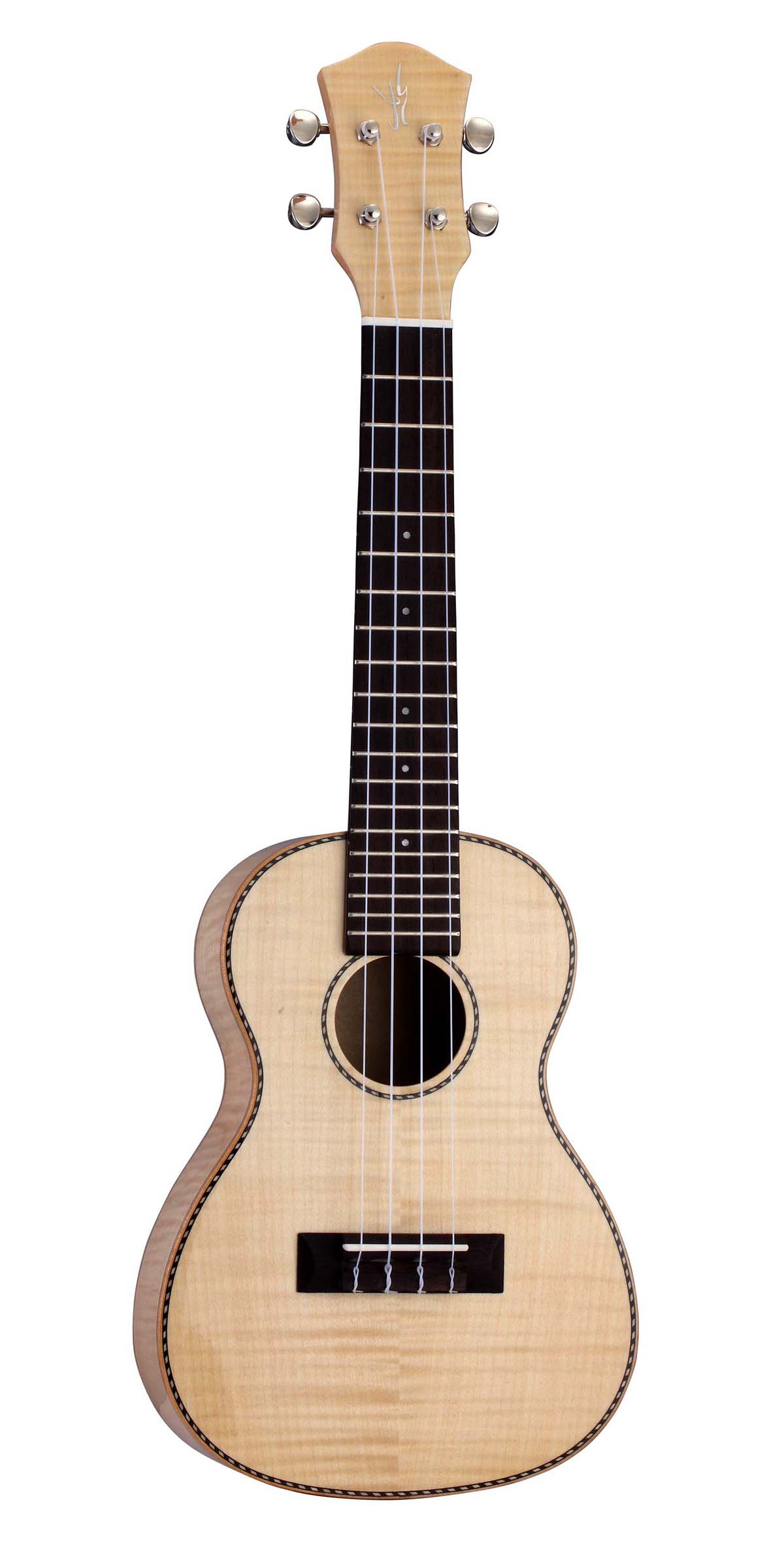 Flame Maple Plywood,Concert Ukulele
