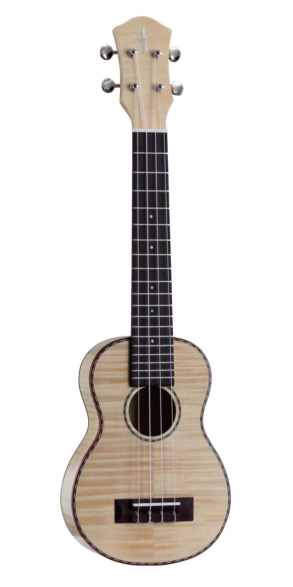Flame Maple Plywood,Soprano Ukulele