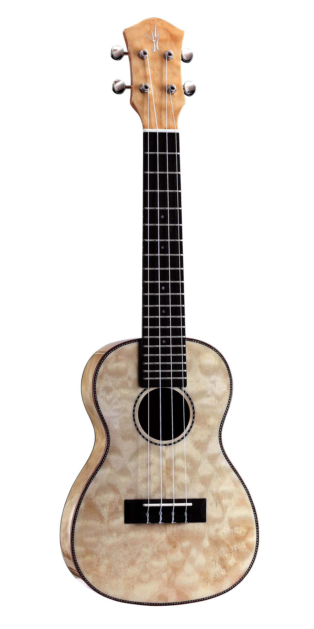 Quilted Maple Plywood,Concert Ukulele