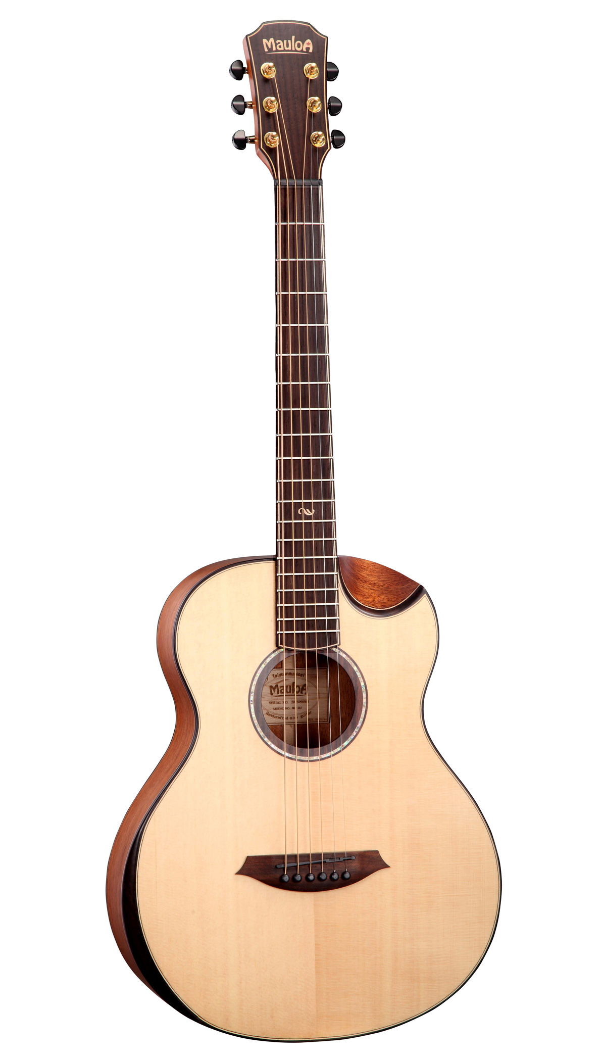36'',Mini Guitar,Skita Solid Top,Mahogany Side&Back