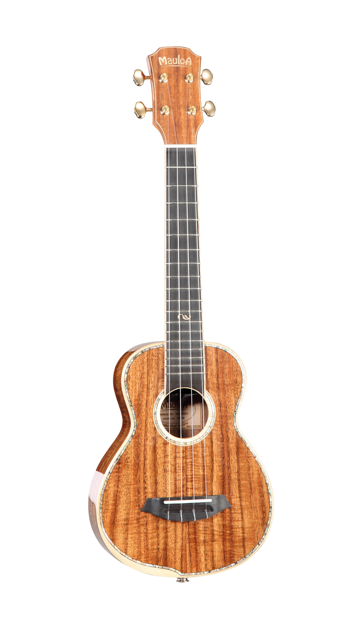 All Solid Koa,New Body Ukulele