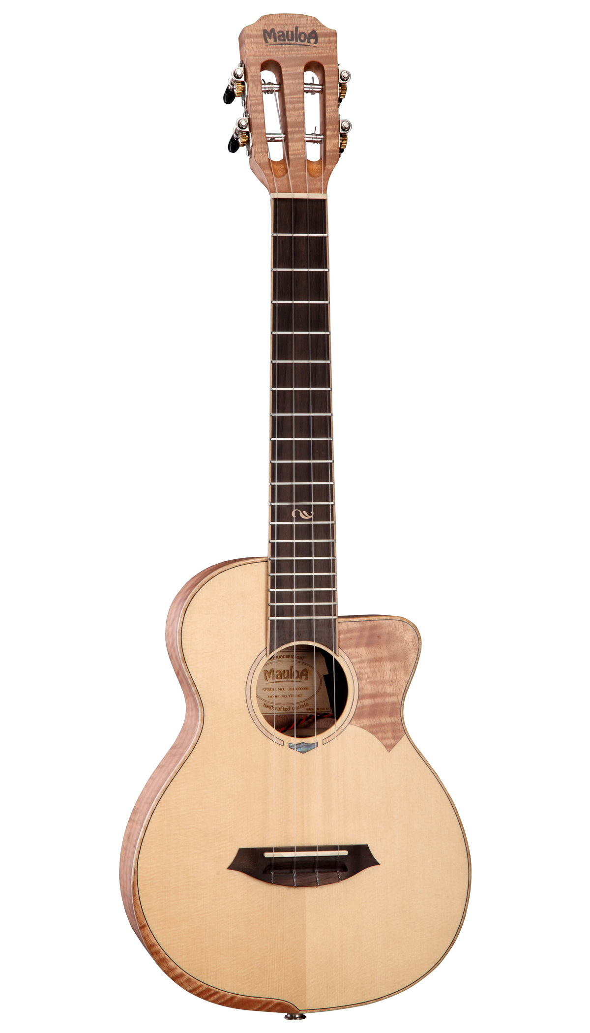 Top Solid Spruce,Flamed Okume Plywood,Tenor