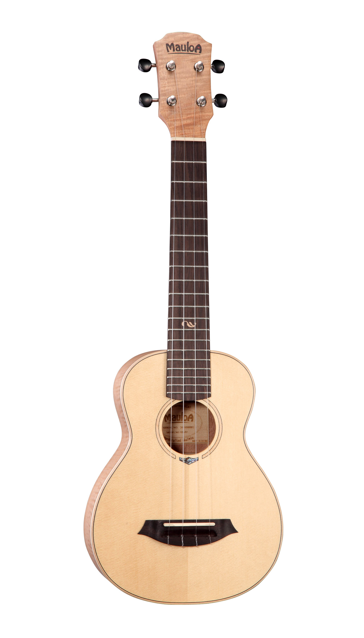 Top Solid Spruce,Flamed Okume Plywood,New Body